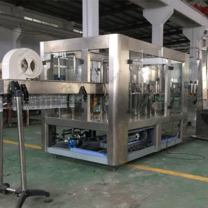 China PLC  MMI Control Mineral Water Bottling Machine, Drinking Water Filling Machine on sale