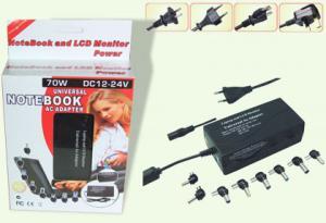 China DC 12V 24V, AC100V,130V, 230V, 240V 70W Laptop Universal Notebook AC Adapter / Adapter on sale