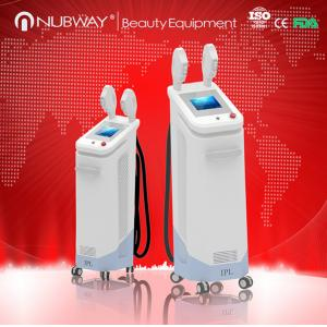 China 3000W Big Power !!! Fast Permanent hair removal ipl equipment / ipl shr device on sale on sale