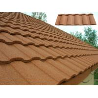 China Customized Heatproof / Sound Insulation Stone Coated Roofing Sheet on sale
