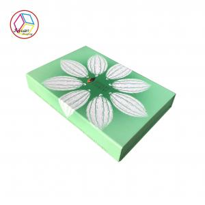 China Flower Style Empty Chocolate Gift Boxes / Empty Christmas Chocolate Boxes on sale