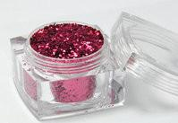 China Cosmetic Color Fine Glitter Powder Crafts In The Square Bottle on sale