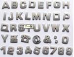 La inyección plástica modificada para requisitos particulares del ABS/de la PC moldeada pieza para las fuentes del moldeado del plástico de la marca de palabra