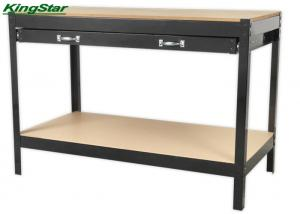 China 1.2M Boltless Custom Steel Workbench With Tool Drawers , 100kg Capa Per Level on sale