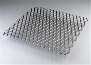China Heavy Duty Aluminum Expanded Metal Mesh , Expanded Metal Walkway Mesh on sale