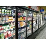 Superstore Cold Chain Multideck Display Fridge For Fresh Meat And Sausages