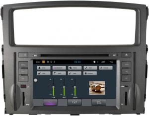 China Stereo Montero Mitsubishi Sat Nav DVD , 3G WiFi Car DVD Player GPS Navigation Radio on sale