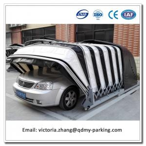 China Remote Control Solar Powered Retractable Car Garage on sale