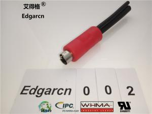 China Data Transfer Din Power Cable , Industrial Custom Cable Assemblies Rj45 Cat5 Male on sale
