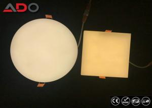 China 30W Back Lighting Dimmable Recessed LED Panel Light 3000K Aluminum AC 220V on sale