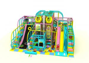 China 4 Floors Kids Indoor Playground Equipment With Dryland Skiing Anti UV KP180912 on sale