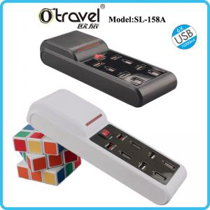 China Otravel SL-158A surge protector extension socket travel usb power strip with Smart quick charging USB on sale