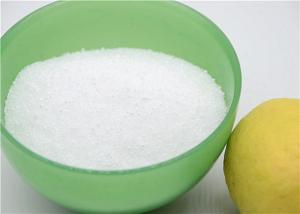 China 99.9% Content Dry Citric Acid Powder / Water Treatment Agent on sale