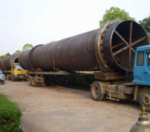 China Active lime Rotary kiln on sale
