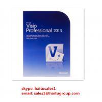 Visio 2013 Professional Microsoft Office Product Key Codes , Full Version FPP Keys