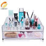 China Advantage price Clear acrylic makeup box wholesale