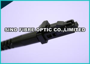 China Duplex MTRJ Fiber Optic Connector Kits For 1.8 mm Mini Zipcord Cable on sale