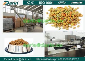 China DARIN Twin Screw dog food extruder with ISO , Feed Pellet Production Line on sale