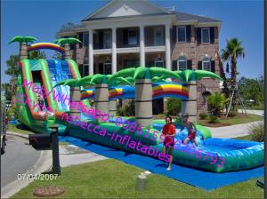 China Outdoor Inflatable Water Slide Product  Inflatable Water Slide Clearance/ Inflatanle Toy on sale