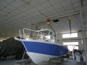 China Fishing / Drifting Center Console Cuddy Cabin Boats Durable With 2.1M Width on sale
