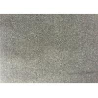 Mid - Grey Color Melton Wool Fabric For Women