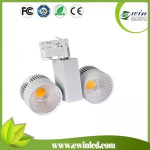 China 110v/230vAC 100lm/w CRI>82 2*30W LED COB Tracklight on sale