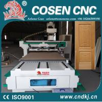 COSEN CNC wood router machine cnc1325 for wood door window processing