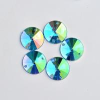China Extremely Shiny Sew On Stones , 14  Facets Sew On Glass Rhinestones on sale
