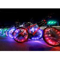 Fancy Colorful Led Bike Wheel Lights USB For Bicycle Spokes High Brightness