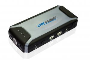 China Powerful Compact Car Battery Booster Small Lithium Battery Jump Starter on sale