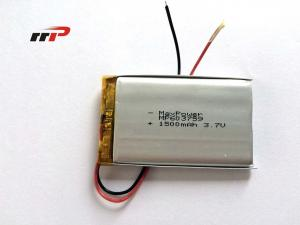 China Energy Saving Lithium AA Polymer Battery High Rate 3.7V 1500mAh on sale