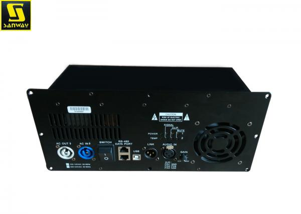 900W Power Amplifier Module With DSP For Stage Monitor Speaker Images