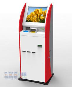 China Multifunction Self Service Kiosk 19 TFT Touchscreen With Secure Pin Pad on sale