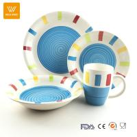 China promotional dinnerware sets for daily used/ceramic dinner set