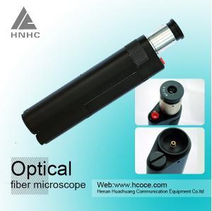 China 繊維の顕微鏡のアダプター400xの繊維光学の点検顕微鏡 on sale