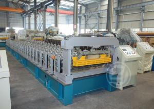 China High Speed Metal Roof Roll Forming Machine with Mitsubishi PLC , Roll Forming Equipment on sale