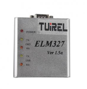 China ELM327 1.5V USB CAN BUS Scanner Software Supports DOS And Windows on sale