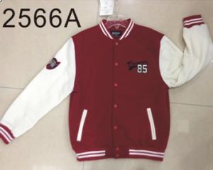 China stock fleece jacket,baseball jacket,men jacket on sale