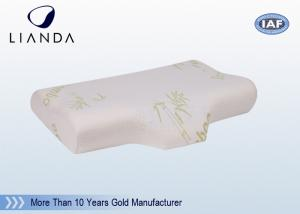 China Visco Elastic Memory Foam Pillows Velour Fabric Customized Moulded on sale