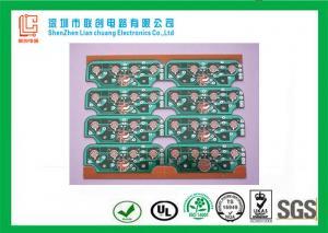 China Single Sided PCB 94HB Plating Nickel , 1.00mm COB pcb green UL / ROHS on sale