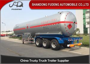 China 58800 Liters LPG Tank Trailer 40 Foot LPG Storage Tank Steel / Aluminum Material on sale