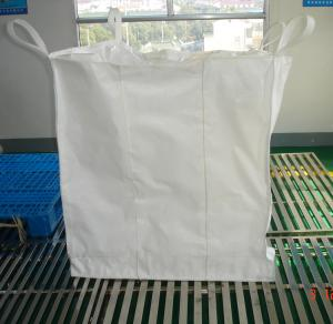 China Flexible Super Sack bags with PE liner , polypropylene woven 1 ton bag on sale