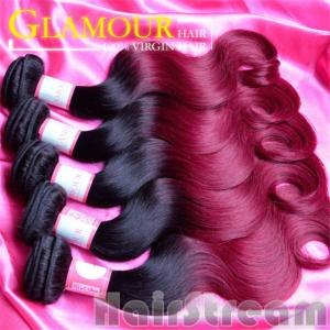 China Beauty Hair Peruvian body Wave Hair Wholesale Unprocessed Human Ombre Hair Weaves on sale