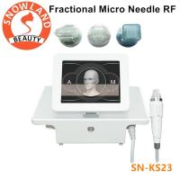 Micro needle acne scar remover Wrinkles/freckle/pigment/ removal portable fractional rf microneedle machine