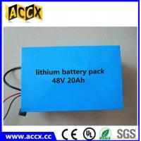 China 48V 20Ah Lithium e-bike battery/LiFePO4 battery/NCM battery, e-bike battery 48 volt on sale