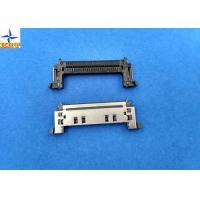 China Single Row SATA Connectors 0.5mm Pitch 50V AC / DC SMT Inventer ATA Connectors on sale