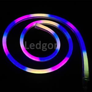 China Red Blue Green Yellow Pink RGB cool white warm white SMD Led Neon Flex advertising sign Commercial neon on sale