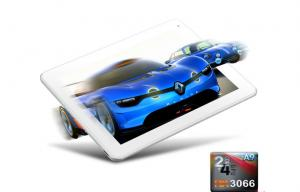 China Quad-Core 9.7 Inch Android Tablet With 1GB DDR3 1.6GHz , White on sale