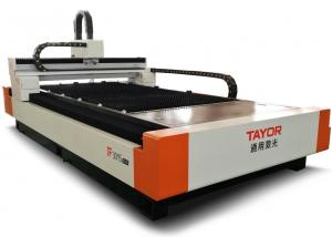 China 2000W 1.5*3m CNC Fiber Laser Cutting Machine with Raycus Laser Power Source on sale