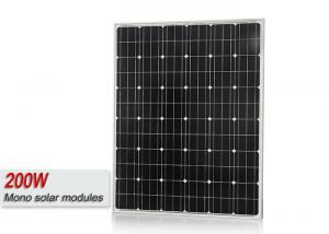 China Sungold 200 Watt Monocrystalline Solar Panel , Monocrystalline PV Cells Panel on sale